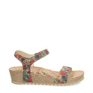 15d1588f4dc6 Panama Jack Women s Capri Cork Ankle Strap Sandals