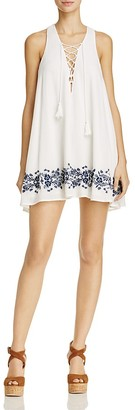 Show Me Your MuMu Daryn Lace-Up Dress $158 thestylecure.com