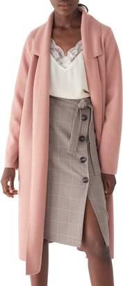 Sosken Bella Brushed Knit Duster Coat