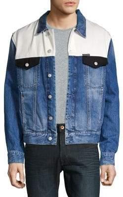 Calvin Klein Jeans Colorblocked Denim Jacket