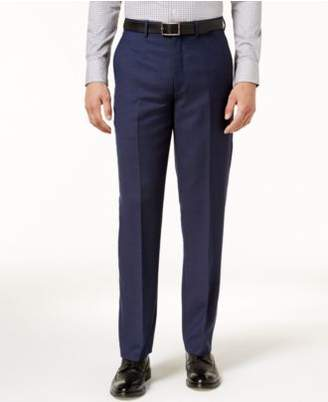 Ryan Seacrest Distinction Ryan Seacrest DistinctionTM Men's Modern-Fit Navy Birdseye Pants, Created for Macy's