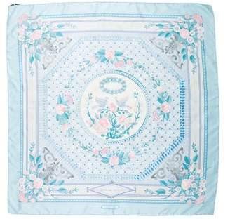 Hermes Jeux De Paille Silk Scarf