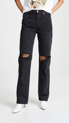 RE/DONE High Rise Loose Jeans