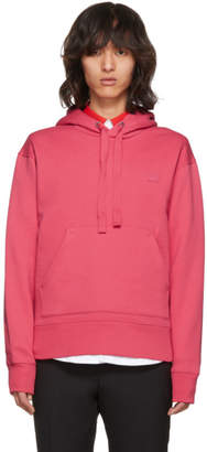 Acne Studios Pink Ferris Face Hoodie