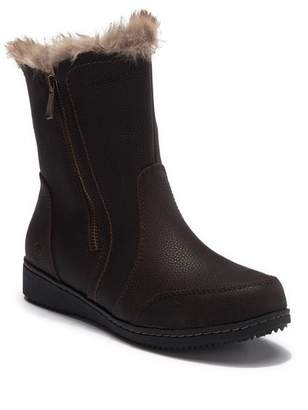 Northside Adelaide Waterproof Leather Faux Fur Lined Boot