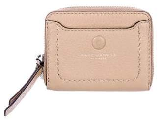 Marc Jacobs Empire City Leather Zip Wallet