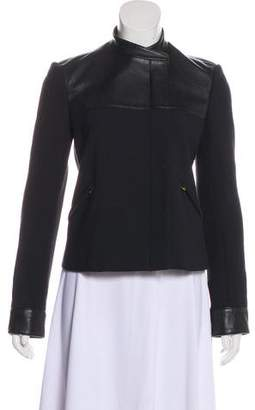 The Row Zip-Up Wool Blend Jacket