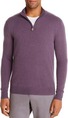 Bloomingdale's The Men's Store at Cashmere Half-Zip Sweater - 100% Exclusive