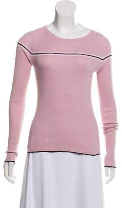360 Cashmere Lightweight Striped Sweater
