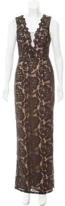 Aidan Mattox Lace Evening Dress w/ Tags