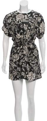 Isabel Marant Floral Silk Dress