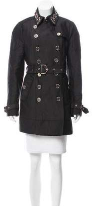 Sam Edelman Embellished Trench Coat