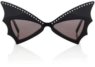 Jerry Bat embellished sunglasses
