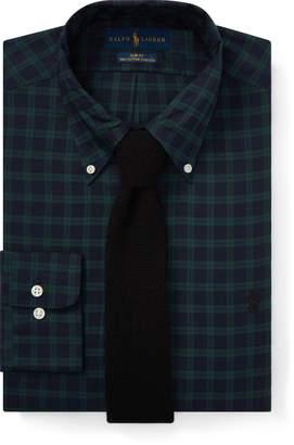 Ralph Lauren Slim Fit Plaid Poplin Shirt
