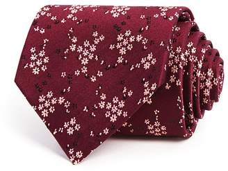 Paul Smith Tossed Mini Floral Classic Tie
