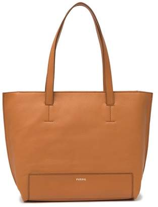 Fossil Madison Leather Tote Bag