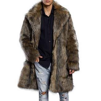 1a5fb3802 Trench Coat Fur Collar Mens - ShopStyle Canada