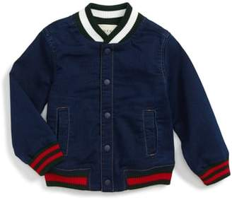 Gucci Chambray Bomber Jacket