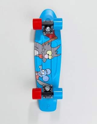 The Simpsons Penny Skateboards X Penny Itchy & Scratchy Skateboard