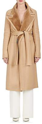 The Row Women's Cintry Shearling Duster Coat