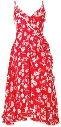 Athena Procopiou Farah floral flared dress
