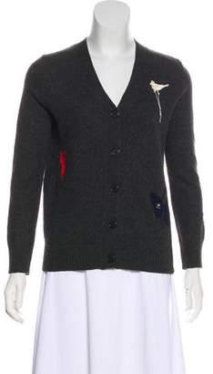 Celine Knit Crocheted Cardigan