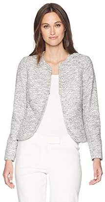 Anne Klein Women's Etched Tweed Jacket