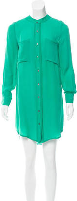 Brochu Walker Silk Shirt Dress w/ Tags $65 thestylecure.com