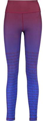 adidas by Stella McCartney Train Miracle Printed Climalite Stretch Leggings