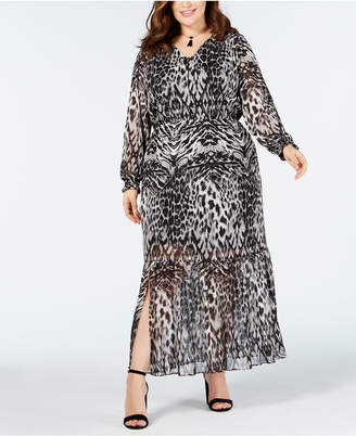 5a849ff5c10a Animal Print Plus Size Maxi Dresses - ShopStyle
