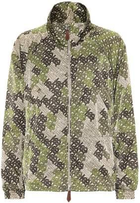 Burberry Printed twill jacket