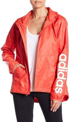 adidas Linear Packable Hood Windbreaker