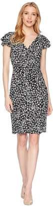 Lauren Ralph Lauren Cinnamon Abstract Brisa Dress Women's Dress