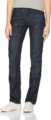 Carhartt Women's Slim Fit Layton Double Front Straight Leg Jean