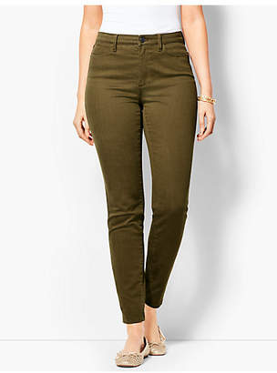 Talbots Comfort Stretch Denim Jeggings - Curvy Fit/Bay Leaf