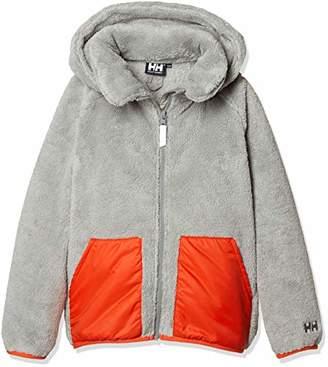 Helly Hansen (ヘリー ハンセン) - [ヘリーハンセン] K VOLCALOFTR Sherpa Fleece Jacket HOJ51852 キッズ ミディアムグレー 日本 100 (日本サイズ100 相当)