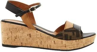 Fendi Leather sandals