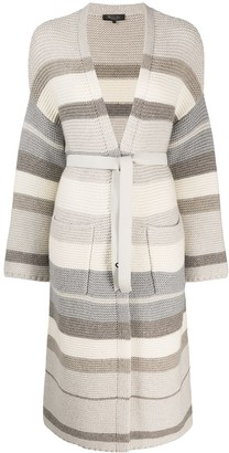 Loro Piana long belted cardigan