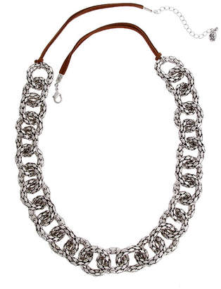EL BY ERICA LYONS EL by Erica Lyons El By Erica Lyons July Tritone Womens 27 Inch Link Necklace