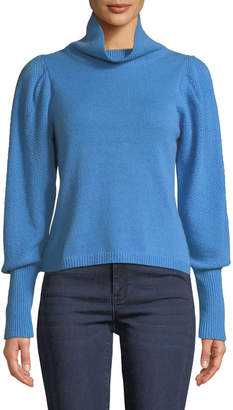 Diane von Furstenberg Beatrice Wool-Cashmere Turtleneck Sweater