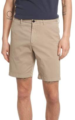 Theory Zaine Stretch Cotton Shorts