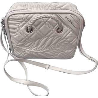 Balenciaga Blanket leather handbag