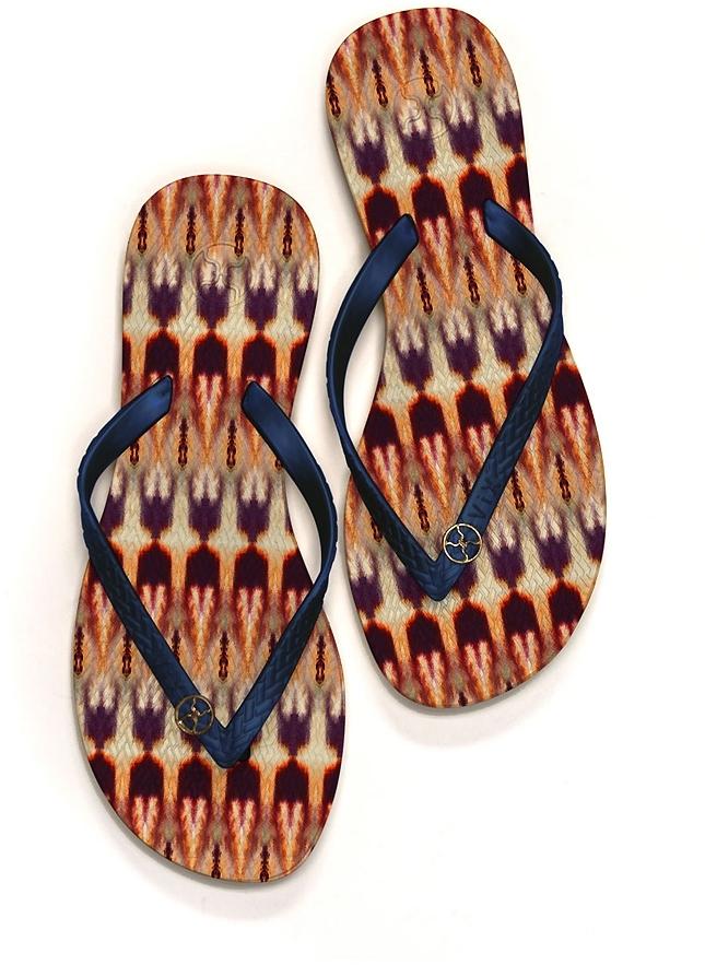 Vix Swimwear Zambia Sandal in Multi