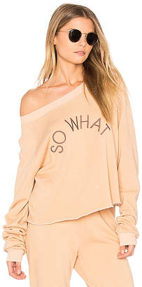 Wildfox Couture So What Cropped Sweatshirt