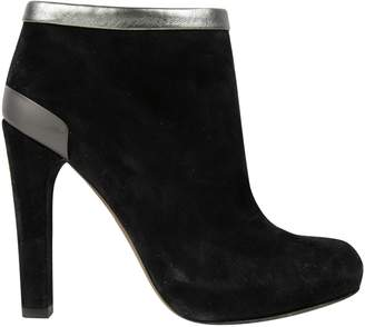 Fendi Black Suede Ankle boots