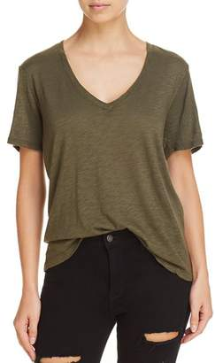 Splendid V-Neck Slub Tee