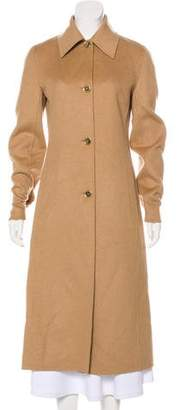 Celine Long Camel Coat