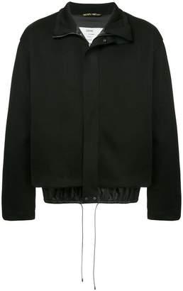 Oamc zipped bomber jacket