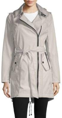 BCBGeneration Missy Asymmetrical Belted Jacket