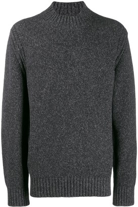 Ermenegildo Zegna speckled knit jumper